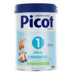 Acheter Picot Standard 1 Lait poudre B/800g à Clamart