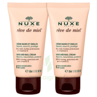 Rêve De Miel® Crème Mains Et Ongles 2*50ml à Clamart