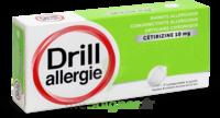 DRILL 10 mg Comprimés à sucer allergie cétirizine Plq/7 à Clamart