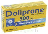 DOLIPRANE 500 mg Comprimés 2plq/8 (16) à Clamart