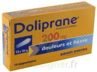 DOLIPRANE 200 mg Suppositoires 2Plq/5 (10) à Clamart