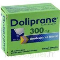 Doliprane 300 Mg Poudre Pour Solution Buvable En Sachet-dose B/12 à Clamart