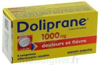 DOLIPRANE 1000 mg Comprimés effervescents sécables T/8 à Clamart