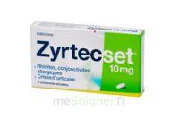 ZYRTECSET 10 mg, comprimé pelliculé sécable à Clamart