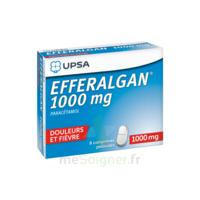 Efferalgan 1000 mg Comprimés pelliculés Plq/8 à Clamart
