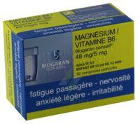 MAGNESIUM/VITAMINE B6 BIOGARAN CONSEIL 48 mg/5 mg, comprimé pelliculé à Clamart