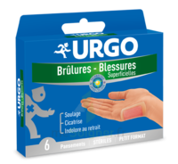 URGO BRULURES-BLESSURES PETIT FORMAT x 6 à Clamart
