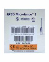 BD MICROLANCE 3, G25 5/8, 0,5 mm x 16 mm, orange  à Clamart
