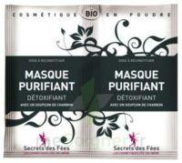 Secrets des Fées Masque purifiant charbon 2Sachets/6g à Clamart