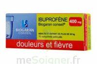 IBUPROFENE BIOGARAN CONSEIL 400 mg, comprimé pelliculé à Clamart