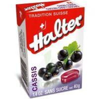Halter Bonbon sans sucre cassis 40g à Clamart