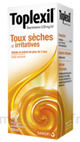 TOPLEXIL 0,33 mg/ml, sirop 150ml à Clamart