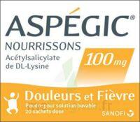 ASPEGIC NOURRISSONS 100 mg, poudre pour solution buvable en sachet-dose à Clamart