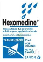 HEXOMEDINE TRANSCUTANEE 1,5 POUR MILLE, solution pour application locale à Clamart