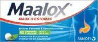 MAALOX HYDROXYDE D'ALUMINIUM/HYDROXYDE DE MAGNESIUM 400 mg/400 mg Cpr à croquer maux d'estomac Plq/40 à Clamart