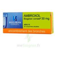 AMBROXOL BIOGARAN CONSEIL 30 mg, comprimé sécable à Clamart