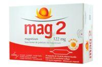 MAG 2 122 mg S buv en ampoule sans sucre édulcoré à la saccharine sodique 30Amp/10ml à Clamart