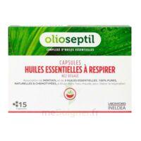 OLIOSEPTIL - Capsules Huiles essentielles à respirer - Nez dégagé à Clamart