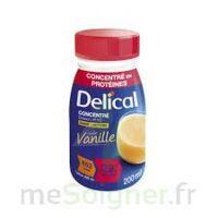 DELICAL BOISSON HP HC CONCENTREE Nutriment vanille 4Bouteilles/200ml à Clamart