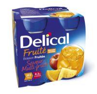 Delical Boisson Fruitee Nutriment Multi Fruits 4bouteilles/200ml à Clamart