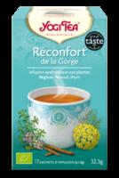Yogi Tea Tisane Ayurvédique Réconfort De La Gorge Bio 17 Sachets/1,8g à Clamart