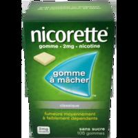 Nicorette 2 Mg Gom à Mâcher Médic Sans Sucre Menthe Fraîche Plq/105gom à Clamart