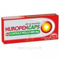 Nurofencaps 400 Mg Caps Molle Plq/10 à Clamart