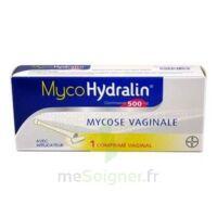 MYCOHYDRALIN 500 mg, comprimé vaginal à Clamart