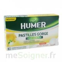 HUMER PASTILLE GORGE à l'etrait sec de thym 24 pastilles à Clamart