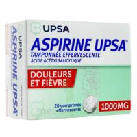 ASPIRINE UPSA TAMPONNEE EFFERVESCENTE 1000 mg, comprimé effervescent à Clamart