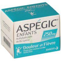 ASPEGIC ENFANTS 250, poudre pour solution buvable en sachet-dose à Clamart