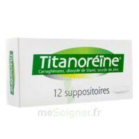 Titanoreine Suppositoires B/12 à Clamart