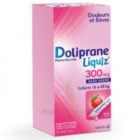 Dolipraneliquiz 300 mg Suspension buvable en sachet sans sucre édulcorée au maltitol liquide et au sorbitol B/12 à Clamart