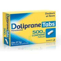 DOLIPRANETABS 500 mg Comprimés pelliculés Plq/16 à Clamart