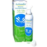 ACTISOUFRE Solution pour pulvérisation buccale/nasale en flacon pressurisé Fl press/100ml à Clamart