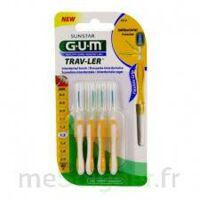 Gum Trav - Ler, 1,3 Mm, Manche Jaune , Blister 4 à Clamart