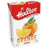 Halter Bonbon sans sucre orange 40g à Clamart