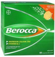 Berocca Comprimés effervescents sans sucre T/60 à Clamart