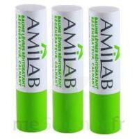 Amilab Baume Labial Réhydratant Et Calmant Lot De 3 à Clamart