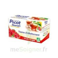Picot Maman Tisane d'allaitement Fruits rouges 20 Sachets à Clamart