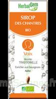 Herbalgem Sirop Bio Des Chantres 150ml à Clamart
