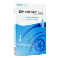 DESOMEDINE 0,1 % Collyre sol 10Fl/0,6ml à Clamart
