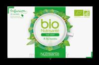 Nutrisanté Infusions Bio Thé Vert Menthe 20 Sachets à Clamart