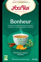 Yogi Tea Tisane Ayurvédique Bonheur Bio 17 Sachets/1,8g à Clamart