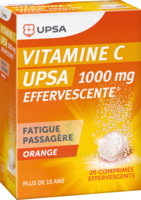 Vitamine C Upsa Effervescente 1000 Mg, Comprimé Effervescent à Clamart